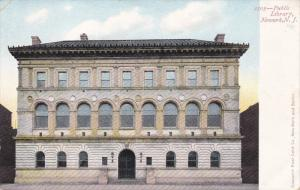 Public Library, Newark, New Jersey, Pre 1907