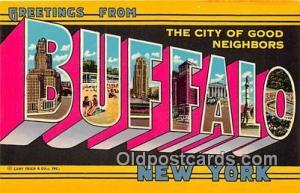 Buffalo New York, USA Postcards Post Cards Old Vintage Antique New York, USA ...
