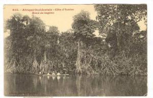 Afrique Occidental, Cote d´Ivore, Bord De Lagune, 1900-1910s