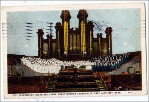 UT - Salt Lake City. Tabernacle Organ & Choir, Mormon Tabernacle