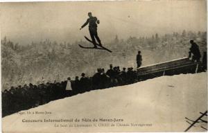 CPA Concours Internat. De Skis de MOREZ - Le Saut, S. ORRE (211468)