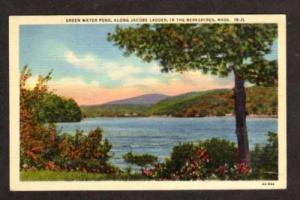JACOBS LADDER TRAIL MASSACHUSETTS MA Green Water Pond