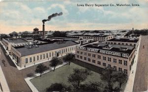WATERLOO IA IOWA DAIRY SEPARATOR COMPANY~FERGUSON PUBLISHED POSTCARD 1910s