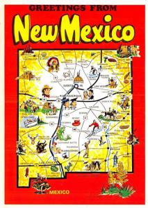 New Mexico - Map