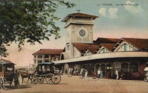 CPA Vietnam Indochine - Saigon - Les Halles Centrales (85831)
