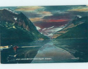 Divided-back NATURE SCENE Lake Louise Alberta AB AD5063