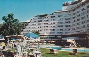 Hotel Tamanaco, Swimming Pool, Caracas, Venezuela, 1940-1960s