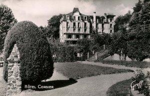 France - Bagnoles-de-L'Orne. Hotel Cordier.   *RPPC