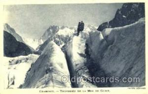 Mountain Climbing, Hiking, Rock Climbing Postcard Postcards