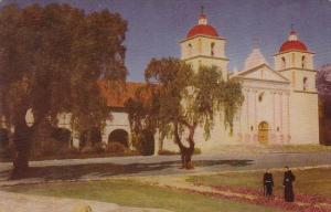 Santa Barbara Mission Founded In 1786 California