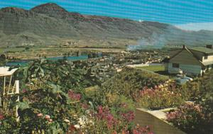 Kamloops, BC from Trans-Canada Highway, 1940-60s