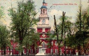 Pennsylvania Philadelphia Independence Hall 1910