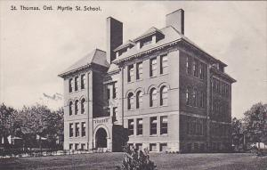 ST THOMAS, Ontario , Canada , 00-10s ; Myrtle Street School