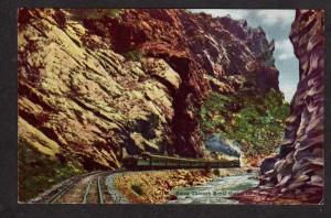 CO Denver & Rio Grande Western Railroad Train Royal GorgeCOLORADO Postcard