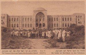Students of Technical & Secondary Schools , HAIFA , Israel , 20-30s
