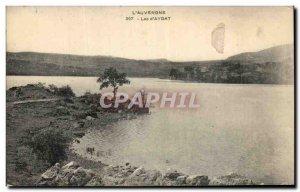 Old Postcard L & # 39Auvergne Lac d & # 39Aydat