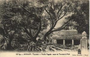 CPA Vietnam Indochine ANNAM Tourane - Vieille Pagode (62127)