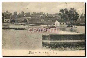 Old Postcard Bois le Roi Dam