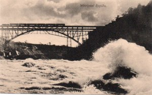 13397 Whirlpool Rapids and Lower Steel Arch Railroad Bridge, Niagara Falls
