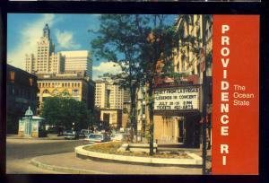 Providence, Rhode Island/RI Postcard, Providence Performing Arts Center, PPAC
