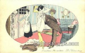 Artist Sager, Xavier Postcard Post Card, Old Vintage Antique B.G. Paris 520 A...