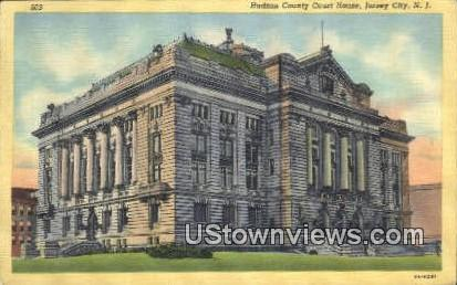 Hudson County Court House Jersey City NJ Unused