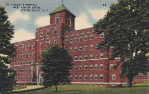 WEST NEW BRIGHTON , Staten Island , New York , 30-40s; St. Vincent's Hospital