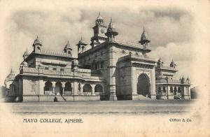 India Mayo College Ajmere Clifton Co Postcard