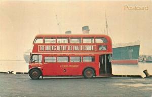 CA, Long Beach, California, Public Transportation Co., Double Deck Bus