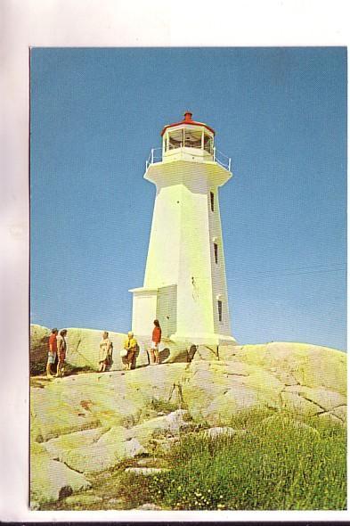 Close Up, Lighthouse, Peggy's Cove, Nova Scotia, Len Leiffer