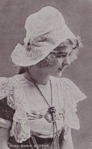 ACTRESS , Miss Marie George , 1904 ; TUCK S 472