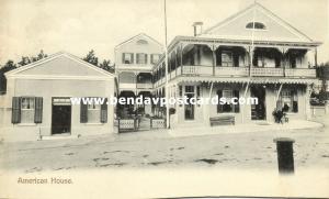 bermuda, HAMILTON, American House (1905)
