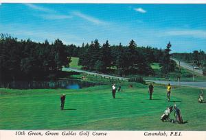 10th Green,  Green Gables Golf Course,  Cavendish,  P.E.I.,  Canada,   50-70s