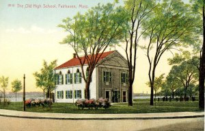 MA - Fairhaven. The Old High School