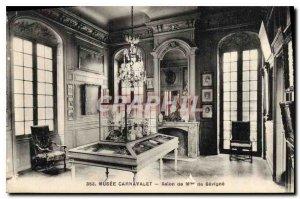 Old Postcard Musee Carnavalet Madame de Sevigne Show