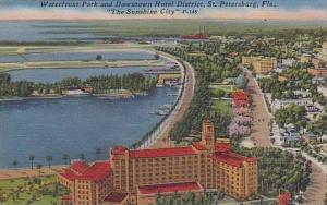 Florida Saint Petersburg Waterfront Park and Downtown Hotel District