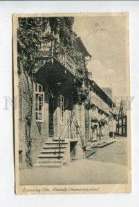 426456 GERMANY Flauenberg Elbe Elbstrasse Vintage Exhibition RPPC return