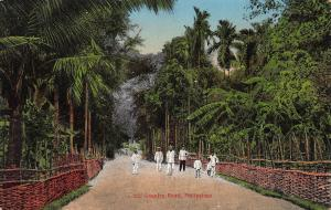 Country Road, Philippines, Early Postcard, unused