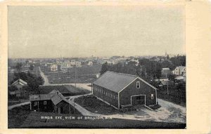 Panorama Brillion Wisconsin 1910c postcard