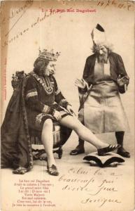 CPA Le Bon Roi Dagobert. 1. A. BERGERET (675517)