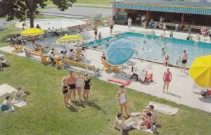 BUSHKILL, Pennsylvania, 1940-1960's; The Swimming Pool At Fernwood