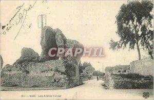 Postcard Old Nice Les Arenes Cimiez