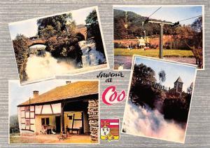 Belgium Souvenir de Coo, Old House Cable Car Waterfall Bridge Pont