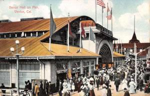 Venice California Dance Hall On Pier Antique Postcard K35029
