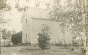 Crowwing County Deerwood Minnesota 1912 RPPC Photo Postcard Residence 434