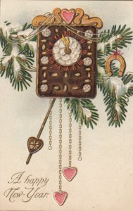 NEW YEAR ; Cookie Clock , 1907