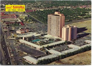 US Las Vegas, Nevada Used.  Hotel Sahara in 1967.  A bit different now....