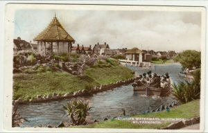 Norfolk; Venetian Waterways, Great Yarmouth RP PPC To Mr Threadgold, Winsford