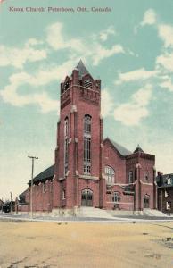 PETERBORO , Ontario , 1900-10s ; Knox Church