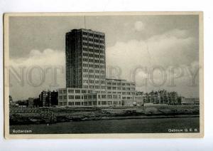 192342 HOLLAND ROTTERDAM Constructivism GEB RPPC to ESTONIA